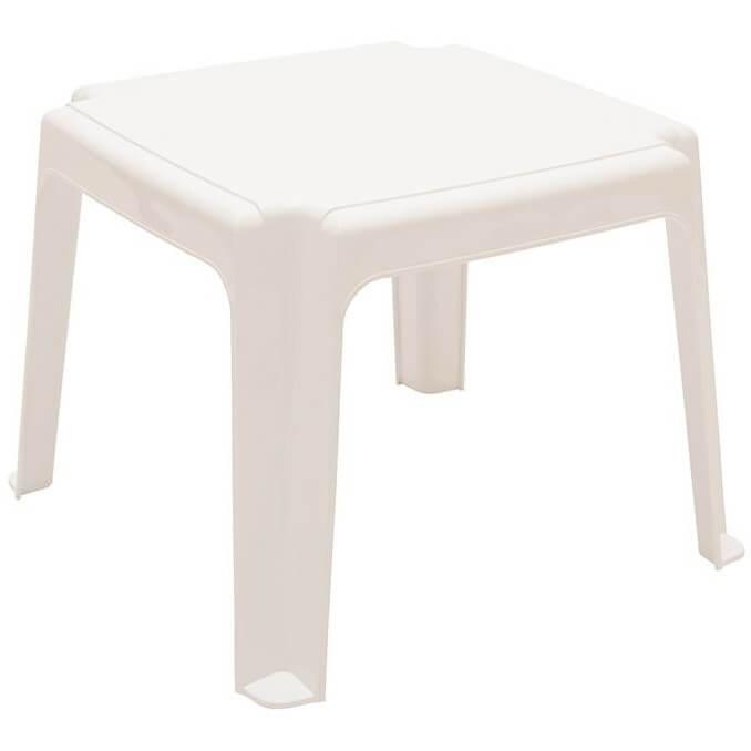 Столик пляжный 4villa белый
