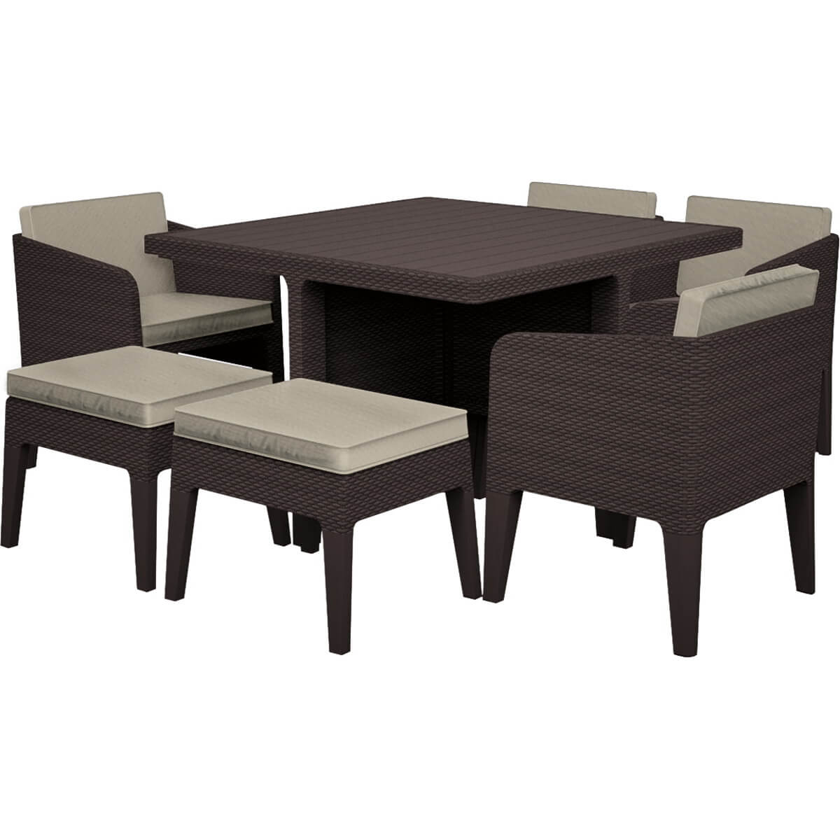 Комплект мебели Keter Columbia 7 17204121