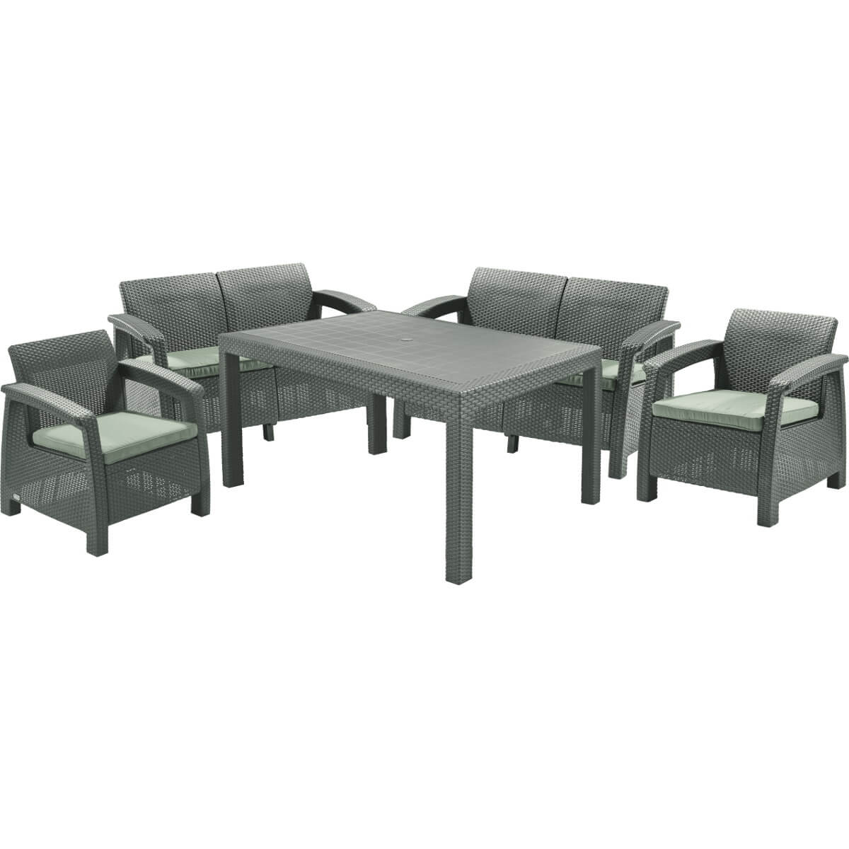 Комплект мебели Allibert Corfu Fiesta 17198008