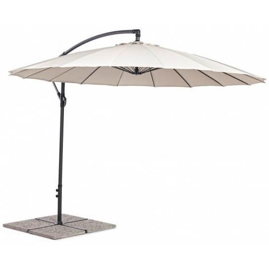 Зонт 4villa Ливорно 300 см бежевый
