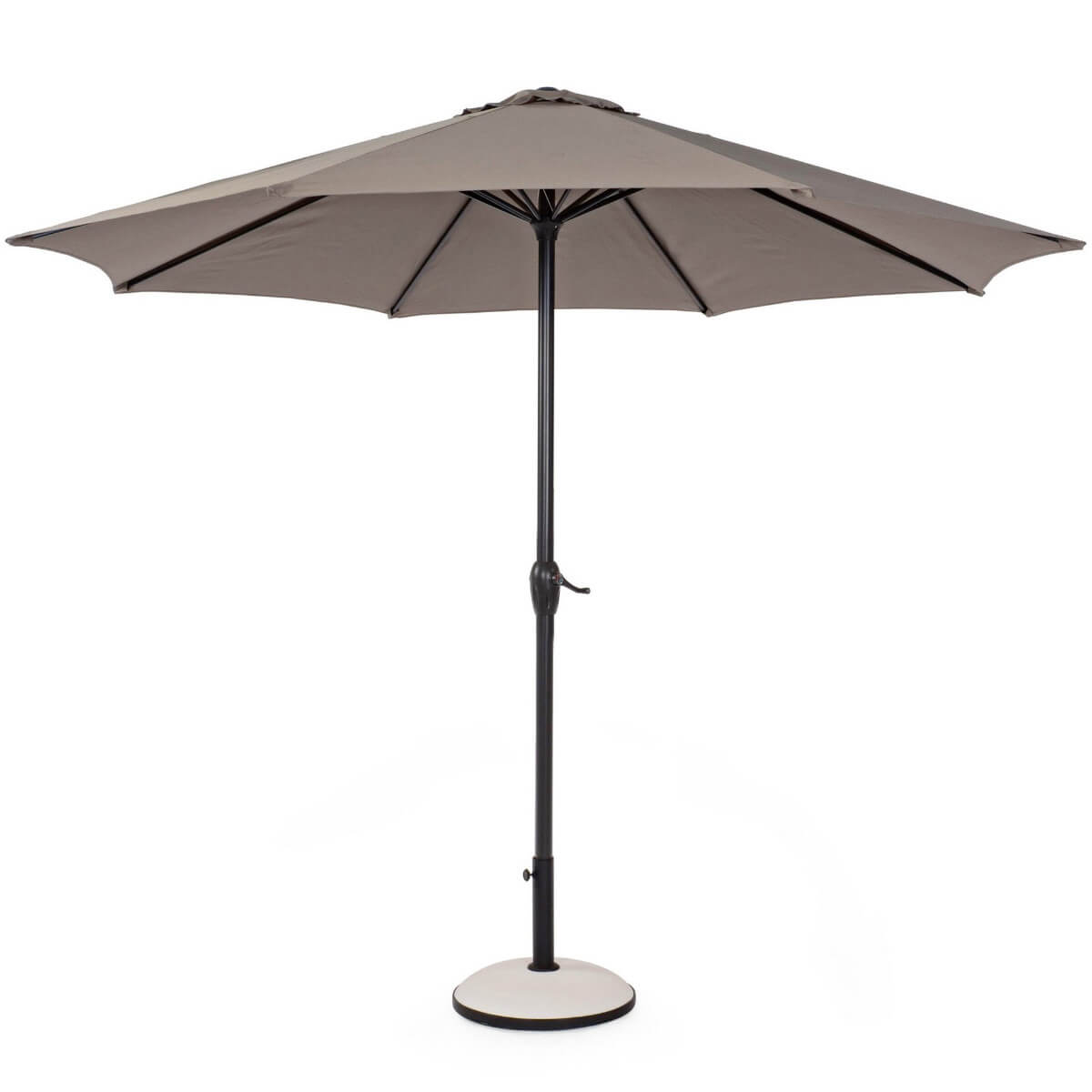 Зонт 4villa Салерно 300 см коричневый