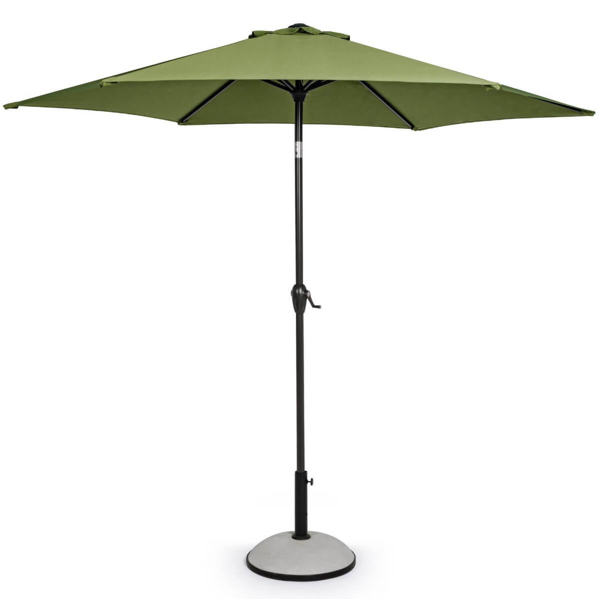 Зонт 4villa Салерно 270 см оливковый