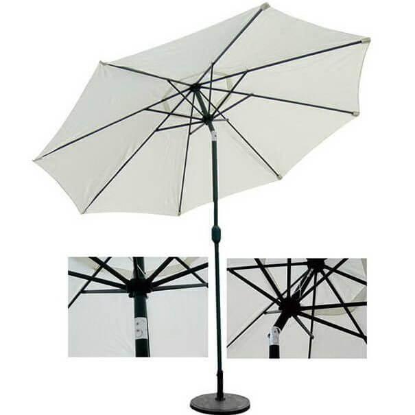 Зонт 4villa Верона 270 см бежевый