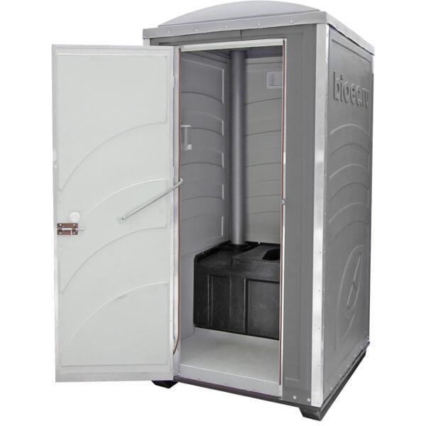 Туалетная кабина Зимняя А20 серая