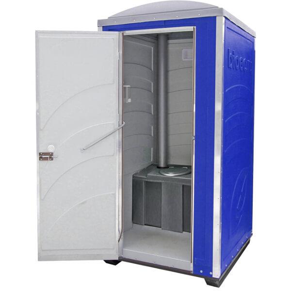 Туалетная кабина Зимняя А30 синяя