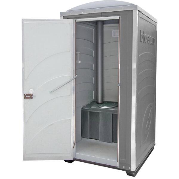Туалетная кабина Зимняя А30 серая
