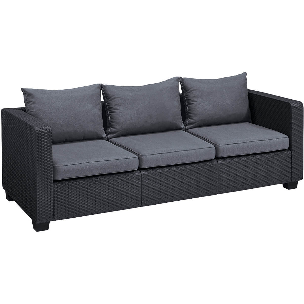Диван Allibert Salta 3 Seater Sofa 17206018